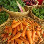 carrots silverbeet