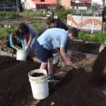 kids composting